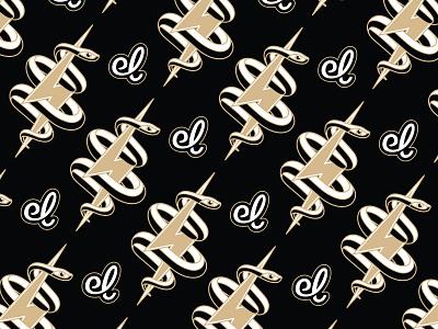 Snake + Bolt brand identity icon badge bolt snake logo design typography vector badgedesign branding illustrator illustration graphic design