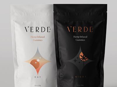 Day & Night package design branding weed hemp cbd