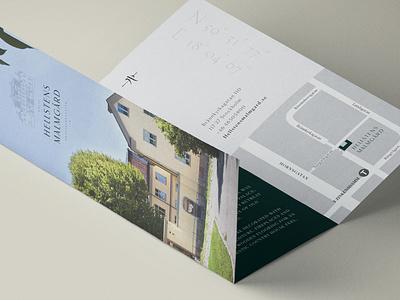 Malmgård brochure branding