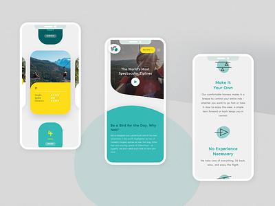 SuperFly Ziplines zipline webdesign ui