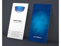 Visit Card sample