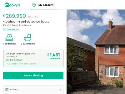 [Moovyn] Property Listing listing selling house property real estate moovyn