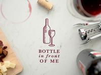 Bottle In Front Of Me Logo