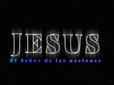 """""""Jesus- The Lord of all the nations"""" motiongraphics aftereffects design motiongraphics design"""