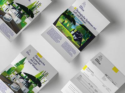 Ökoheizsysteme design vector illustration graphic illustration branding