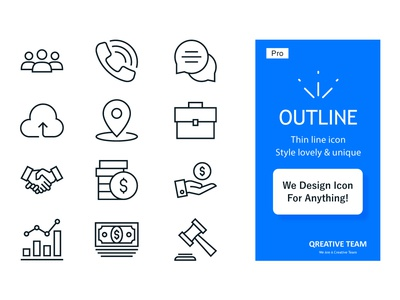 Line icon custom design on Fiverr