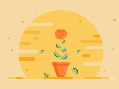 Flower Flat