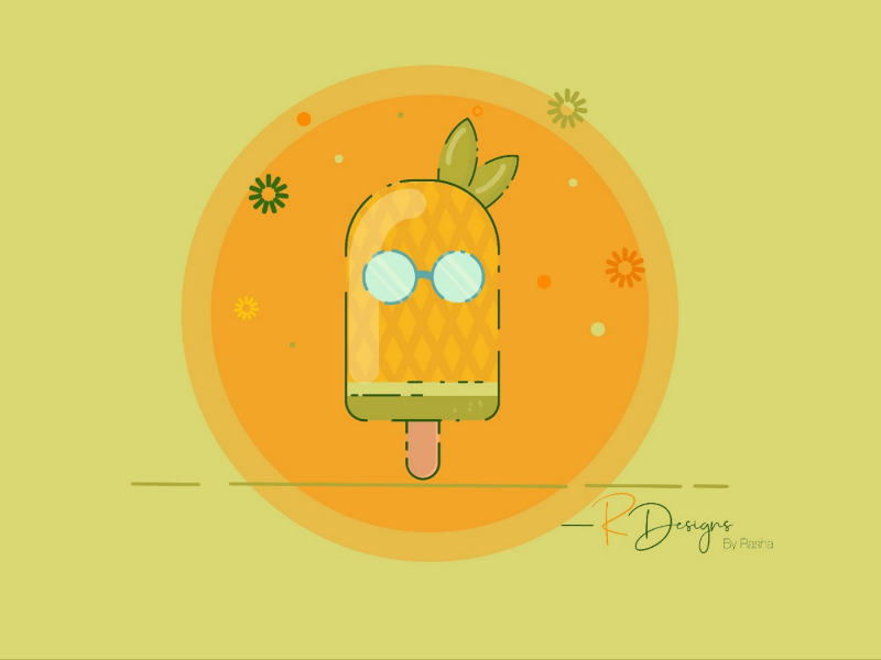 Pineapple illustration pineapple illustrator vectors