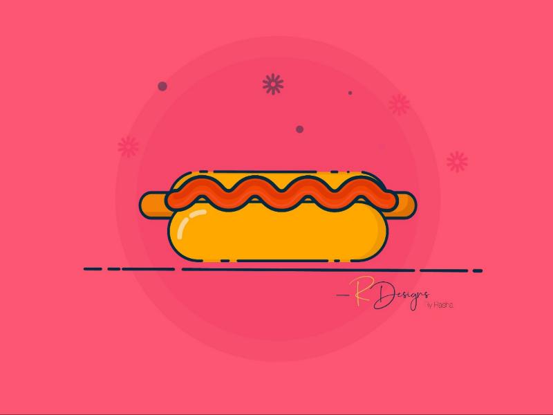 Hotdog hotdog  illustration  vectors