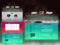 SunsetRainfall Website Design 2017