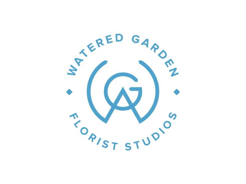 Watered Garden Logo logo florist