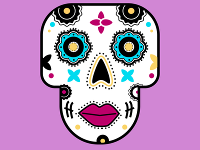 Day of the Dead traditions illustration mexicanculture dayofthedead sugarskull illustrator