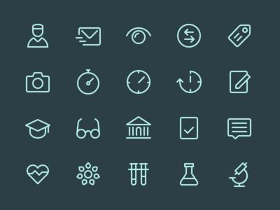 Health App Icons