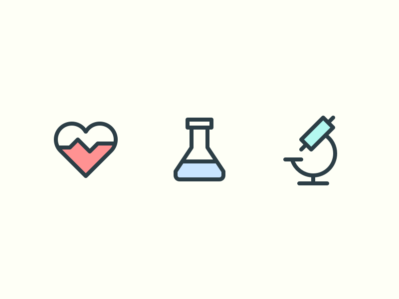 Medical Icons rodchenkod stroke color health medical iconset icons