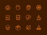 Halloween stroke