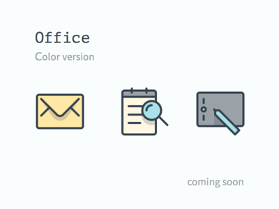 Office Icon Set (color)