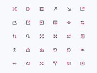 Arrows (mini icons)