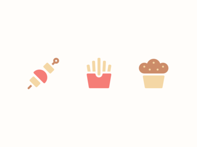 Food Icons pt.2