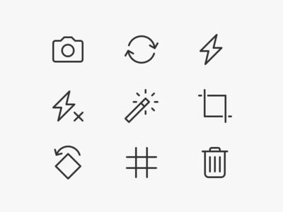 Avito Camera Icons