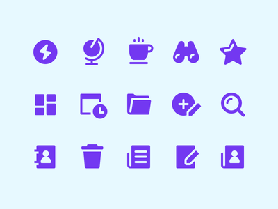 Icons For App ui perfect apps glyph sketch iconset icon minimal icons