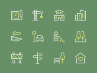 Building & Constructions Icons