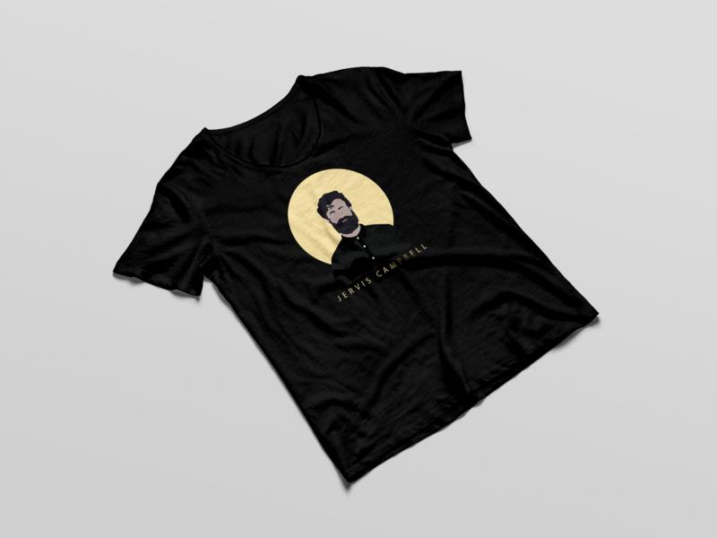 Jervis Campbell Merchandise shirt branding songs music nashville songwriter merchandise cambell jervis