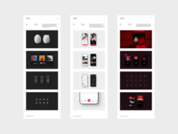 Portfolio 2020 / 03 simple cargo gallery case study designer portfolio white typography brand ux ui app design website minimal