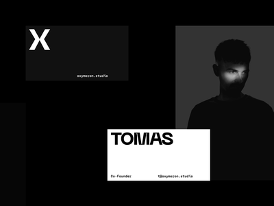 Oxymoron - Brand Overview website oxymoron studio interaction brand ux branding typography minimal dark design