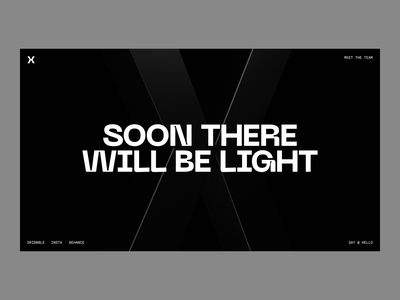 Oxymoron - Temp Website brand animation branding interaction ux ui design minimal oxymoron team dark webdesign website