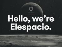 Elespacio website