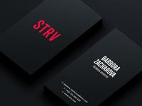 STRV Business Cards