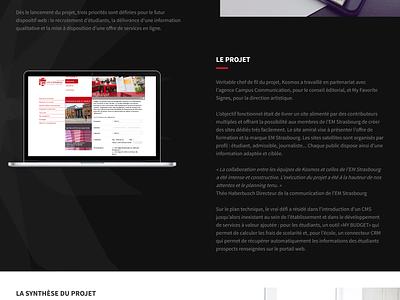 Kosmos - Digital for education school university education style guide website landing ux ui homepage