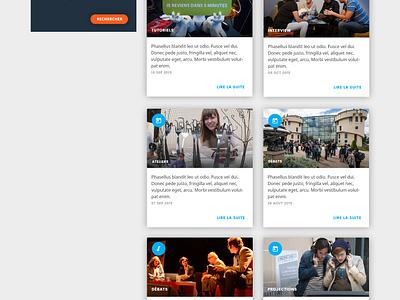 University Media web students landing page home education campus academic university