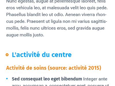 CHU de Nantes Hospital website ui ux website hospital landing homepage