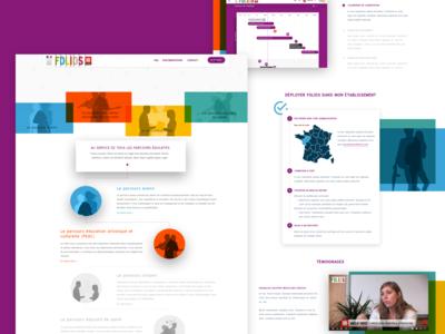 Homepage Folios (education)