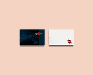 Girl & eve business card design