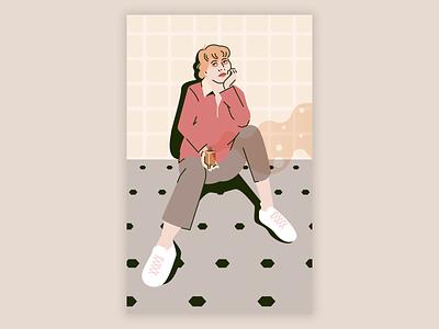 Illicit affairs taylor swift portrait fashion illustration portrait illustration vector design illustration figma