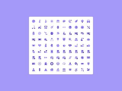 Lyft Icons lyft ux ui branding iconography icon vector design illustration figma