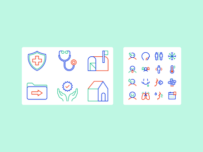 Stream MD Icons health covid19 branding ux ui iconography icon vector design illustration figma