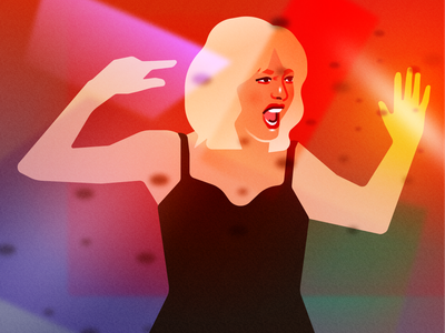 This godforsaken mess that you made me portrait taylor swift fashion illustration portrait illustration vector design illustration figma