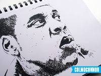 Jay Z Pen Illustration