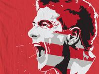 Steven Gerrard Soccer Tee