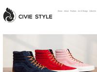 Civie Style Blog Branding