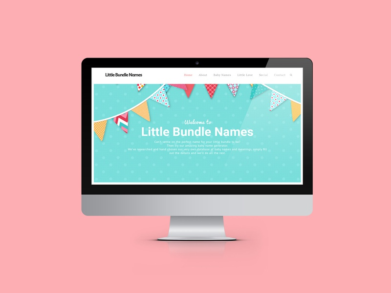 Little Bundle Names by Colm O'Connor | Dribbble | Dribbble