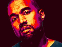 Vector Kanye West Portrait