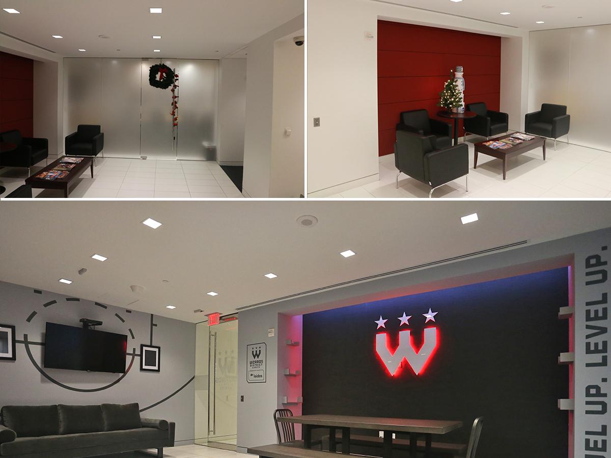 Gaming Lounge 2 nba esports environment design