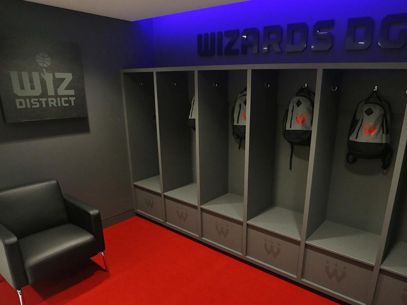 Wizards District Gaming Lounge 3 nba2k nba esports environment design