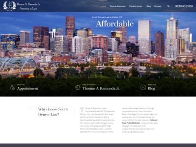 South Denver Law Website