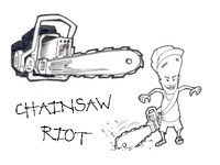 Chainsaw Riot Logo Ideas
