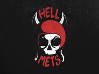 HellMets Logo Concept